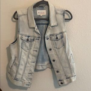 Blue Jean vest Turo by Vince Camuto